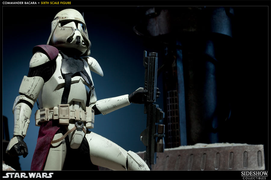 star wars commander bacara sixth scale figure by sideshow