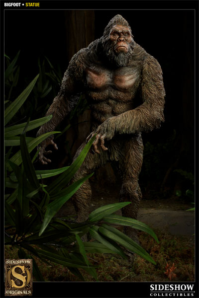 bigfoot statue by sideshow collectibles sideshow