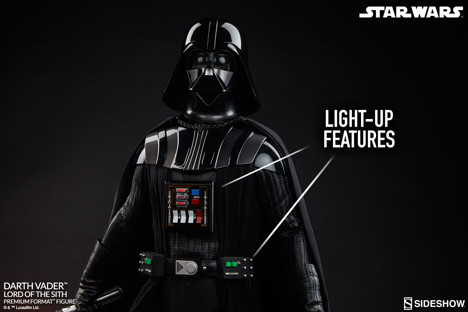 star wars darth vader lord of the sith premium format tm