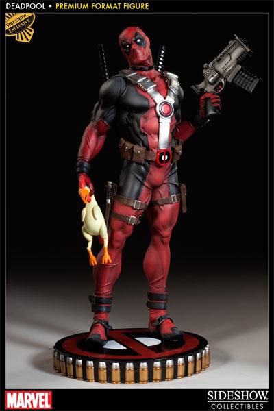 Figurine Deadpool  Sideshow