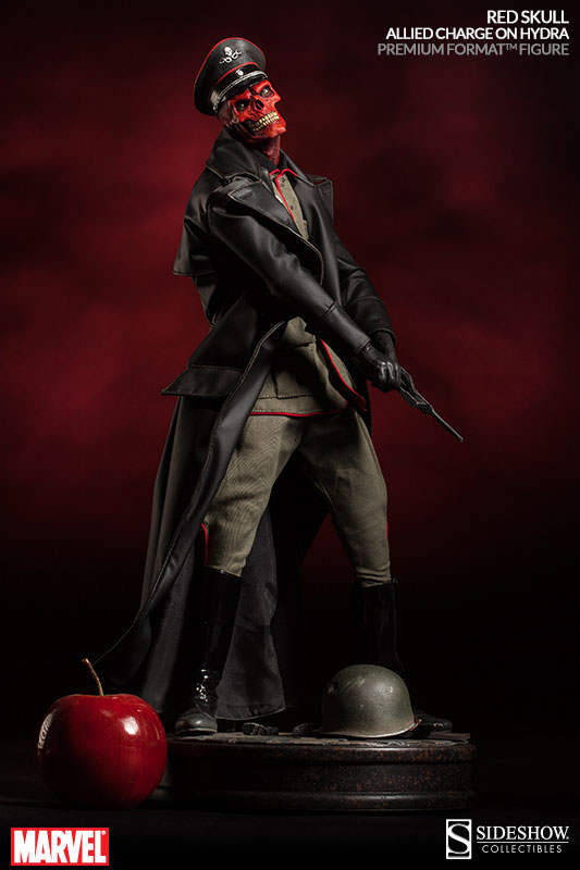 [Sideshow] Red Skull - Allied Charge on Hydra Premium Format - LANÇADO!!! - Página 2 300200-red-skull-004