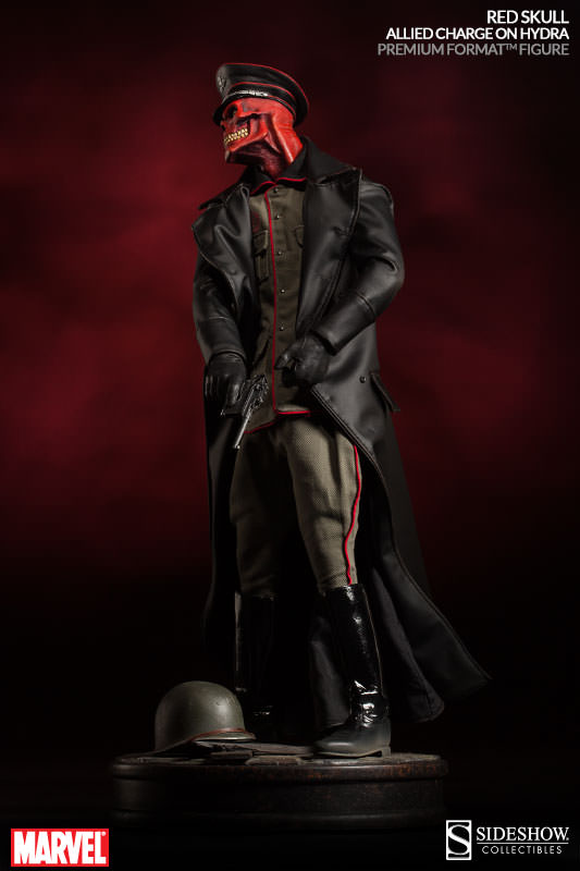 [Sideshow] Red Skull - Allied Charge on Hydra Premium Format - LANÇADO!!! - Página 2 300200-red-skull-006