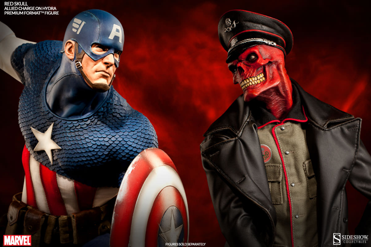 [Sideshow] Red Skull - Allied Charge on Hydra Premium Format - LANÇADO!!! - Página 2 300200-red-skull-011