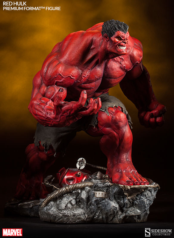 Red Hulk Premium Format Figure