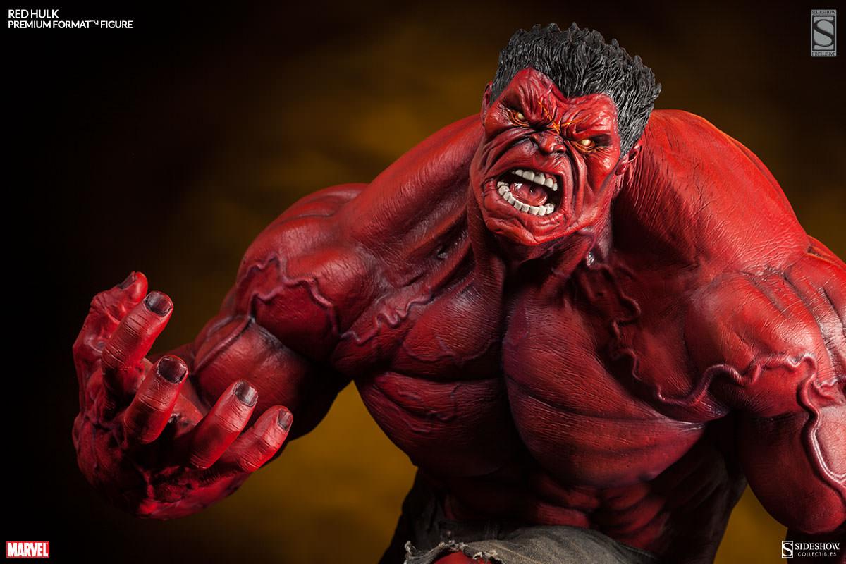 Exclusive Red Hulk Premium Format™ Figure