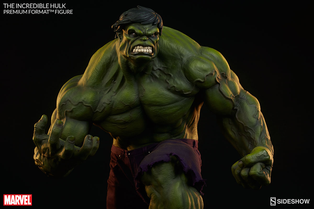 who played incredible hulk