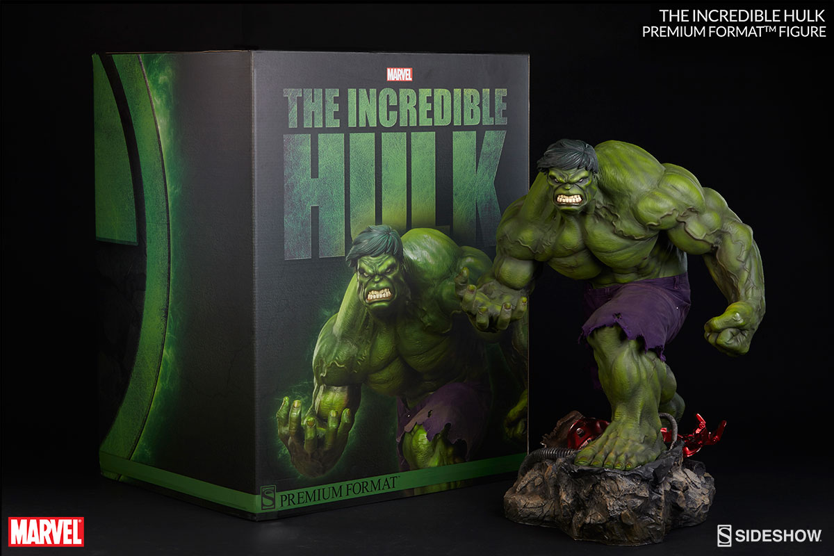 marvel the incredible hulk premium formattm figure by