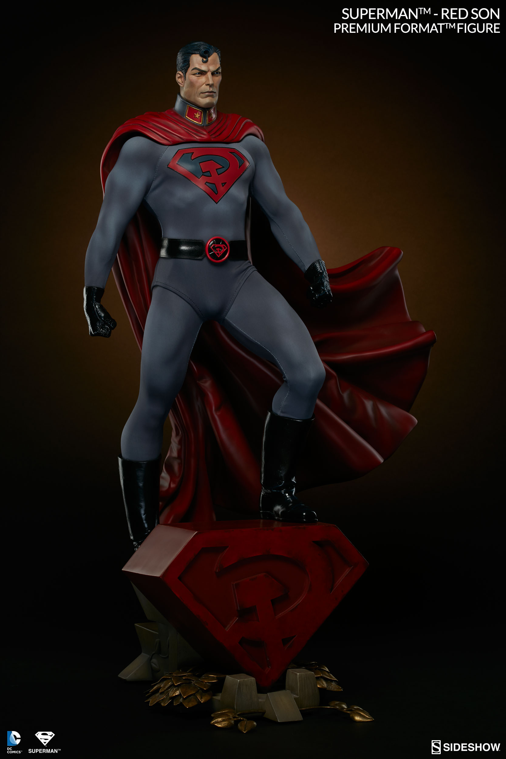 Superman Red Son Figure   Sideshow Collectibles Red Son Justice League