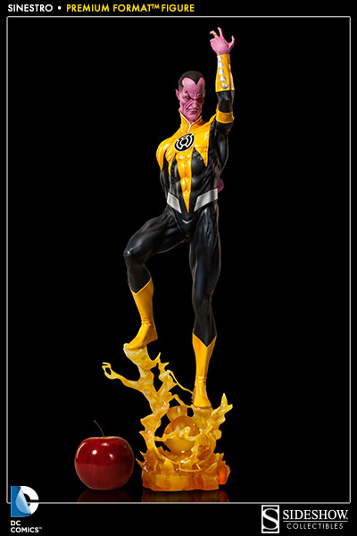 DCUC wave 20 sinestro figure review - YouTube