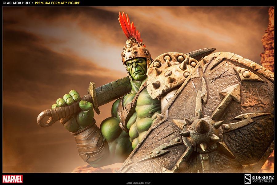 marvel gladiator hulk premium format figure by sideshow