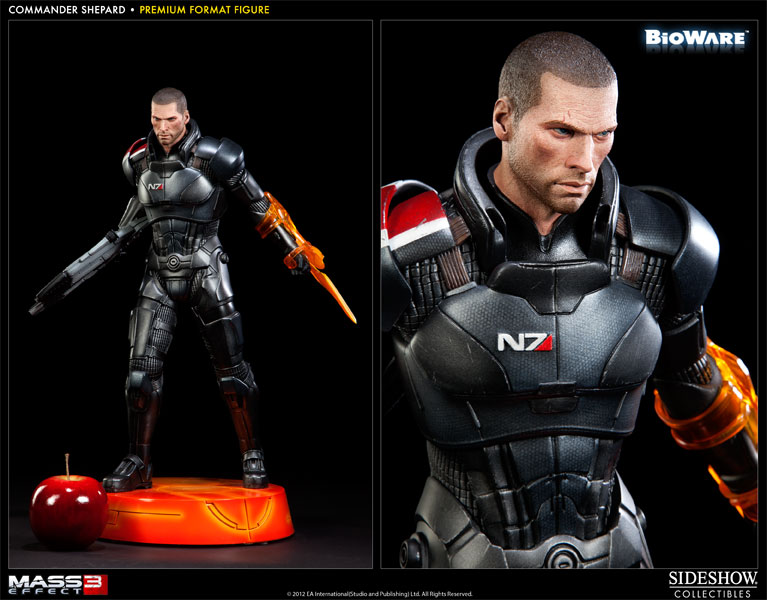 Mass Effect Commander Shepard Premium Format Figure by ...