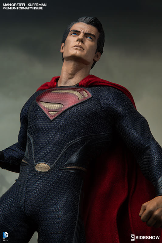 Superman Man of Steel Figure | Sideshow Collectibles