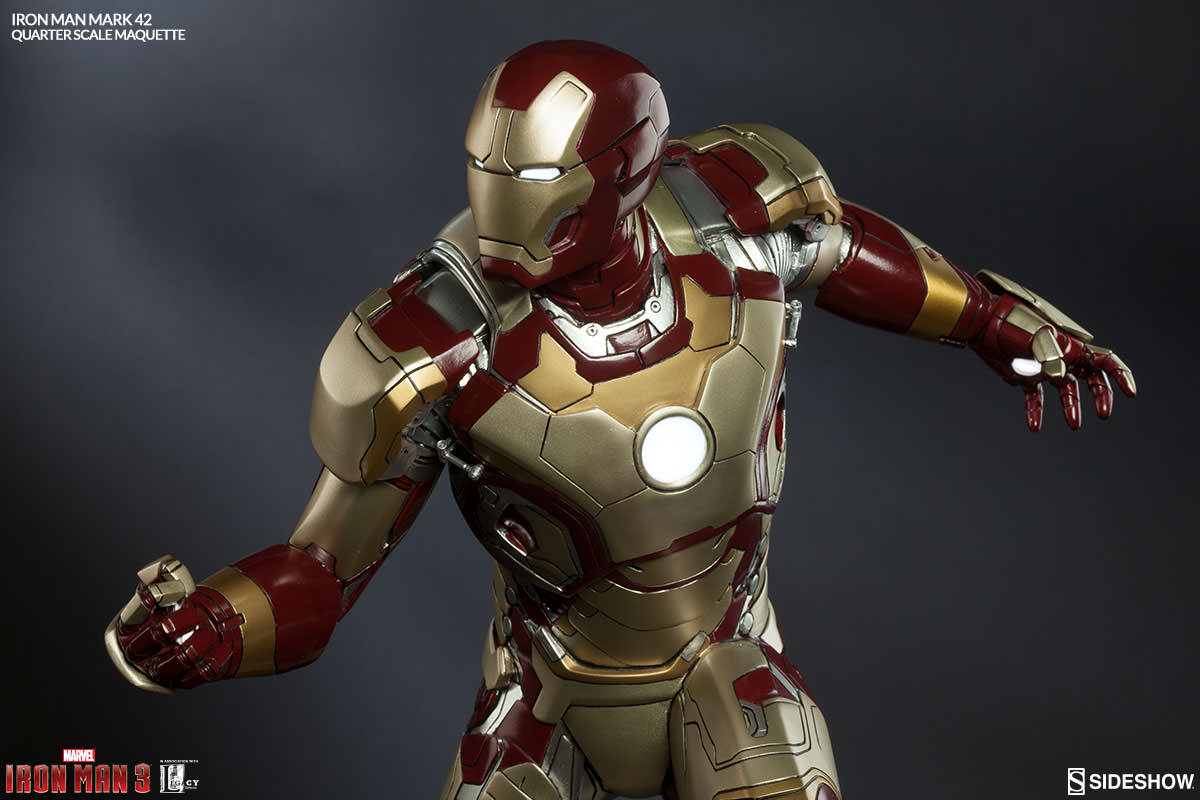 Image Gallery iron man mark xlii