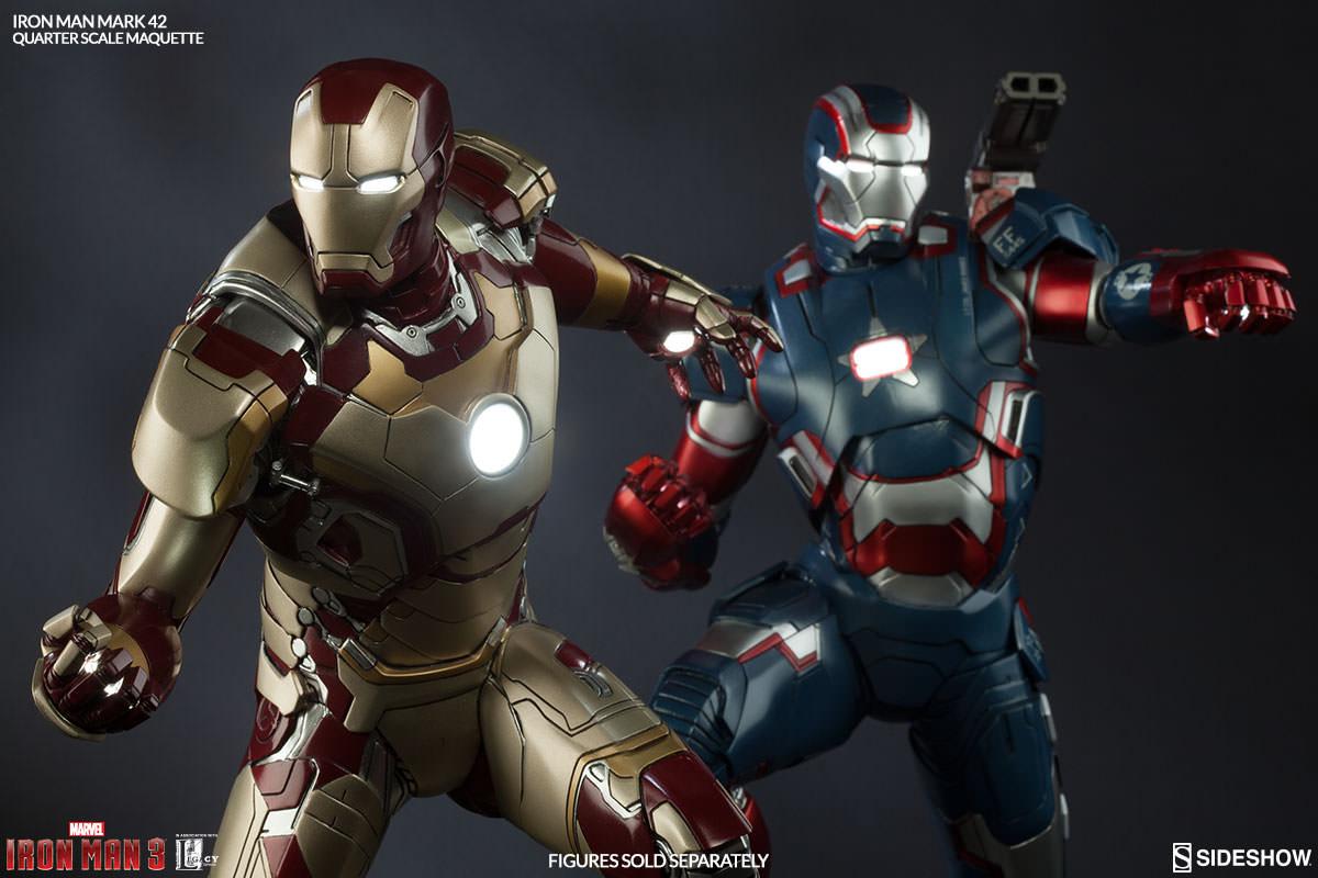 Iron Man 3 Suit Patriot Marvel Iron Man Mark 4...