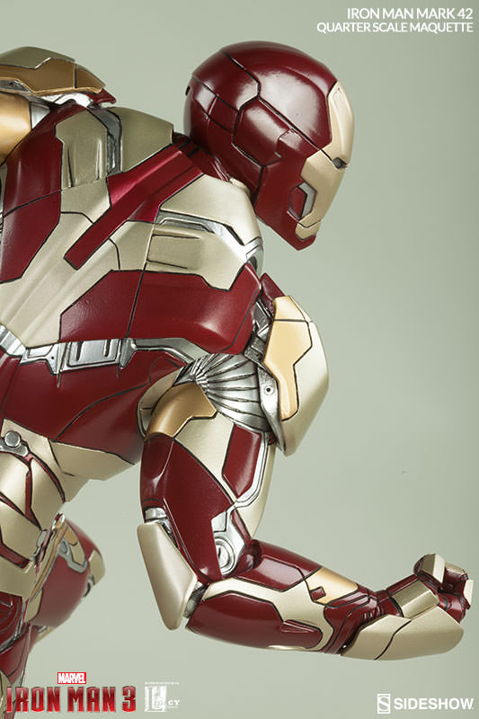 Iron Man Mark 3000 ~ Marvel iron man mark quarter scale maquette by sideshow