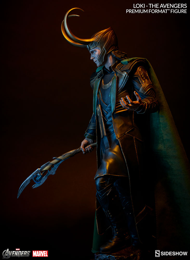 Marvel Loki Premium Format(TM) Figure by Sideshow ...