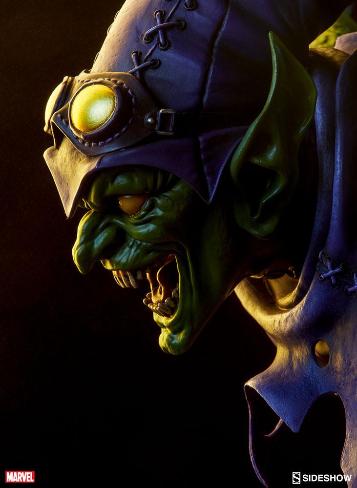 Marvel Green Goblin Premium Format(TM) Figure by Sideshow ... Green Goblin Hot Toys