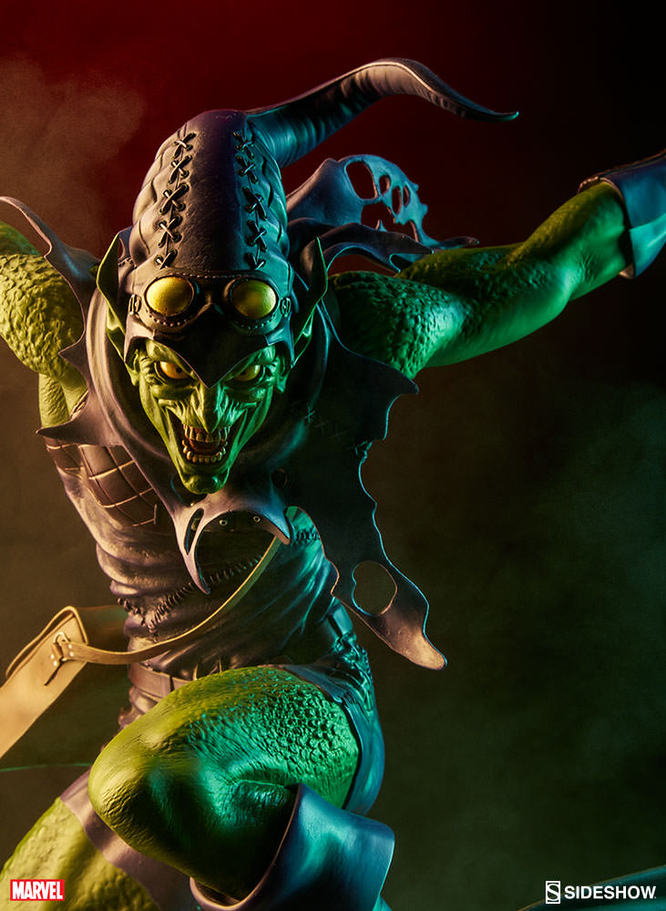 The Green Woman The Empress From The Wildwood Tarot: Marvel Green Goblin Premium Format(TM) Figure By Sideshow