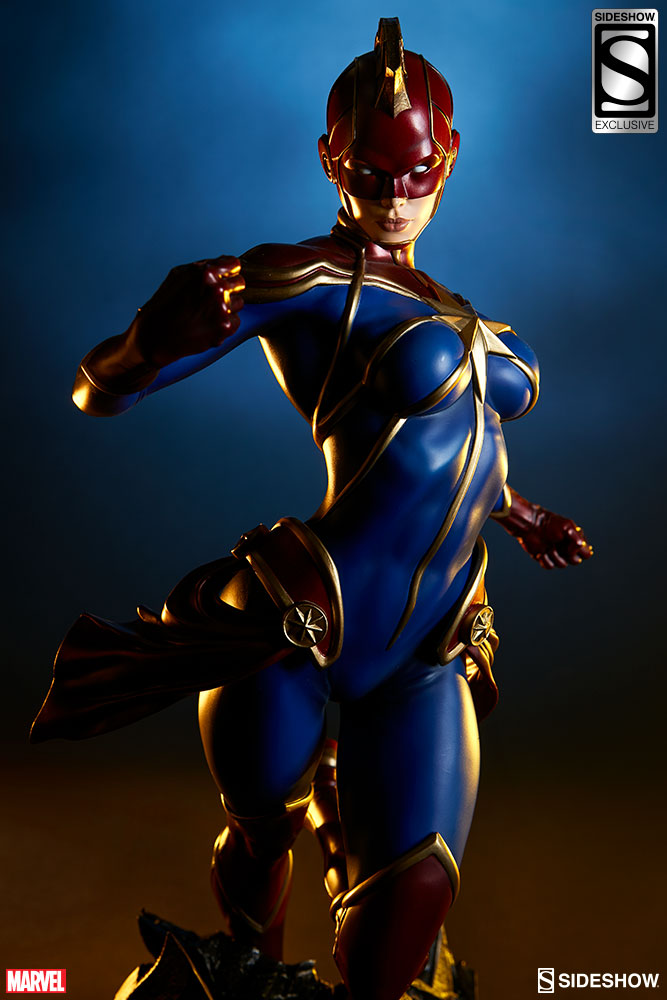 Marvel Captain Marvel Premium FormatTM Figure By