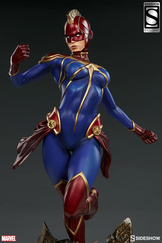 captain marvel sideshow