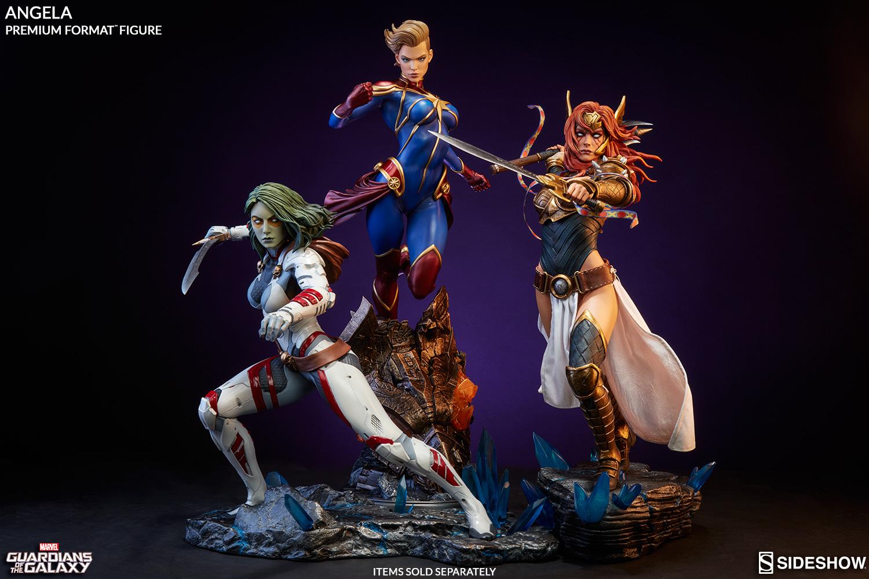 captain marvel figurine