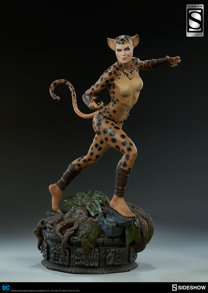 DC Comics Cheetah Premium Format(TM) Figure by Sideshow ...