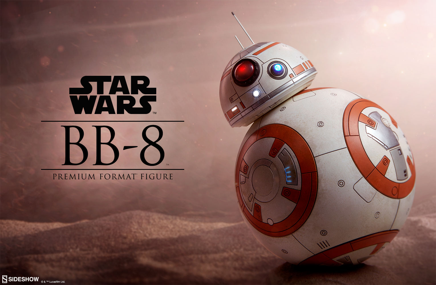 star wars bb 8 premium format tm figure by sideshow collect sideshow collectibles. Black Bedroom Furniture Sets. Home Design Ideas