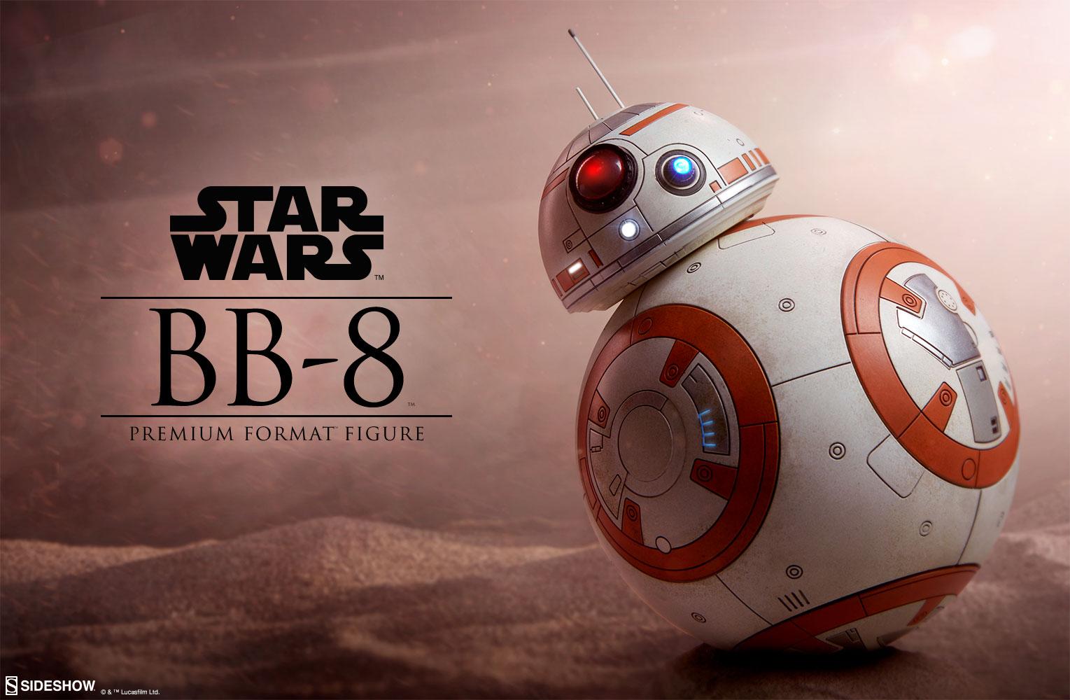 star wars bb 8 premium format tm figure by sideshow. Black Bedroom Furniture Sets. Home Design Ideas