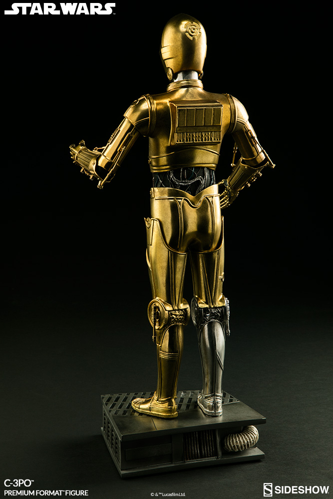 star wars c 3po premium format tm figure by sideshow collec sideshow collectibles. Black Bedroom Furniture Sets. Home Design Ideas