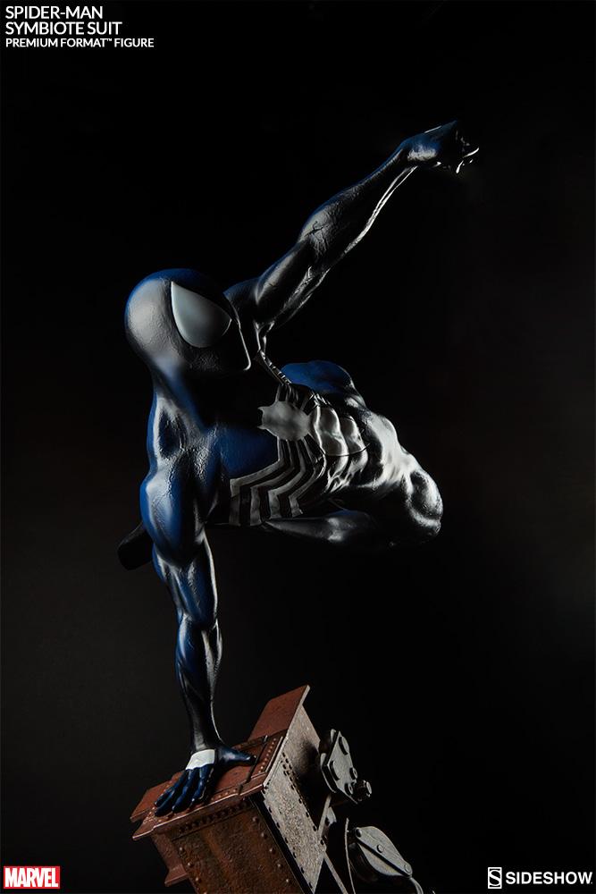 marvel spiderman symbiote costume premium formattm