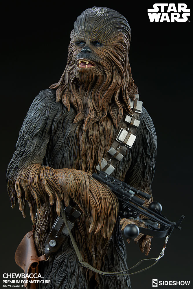 star wars chewbacca premium format tm figure by sideshow co sideshow collectibles. Black Bedroom Furniture Sets. Home Design Ideas