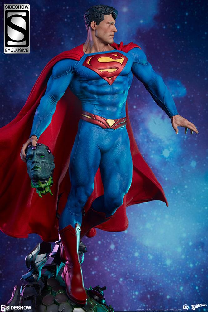 dc comics superman premium format tm figure by sideshow col