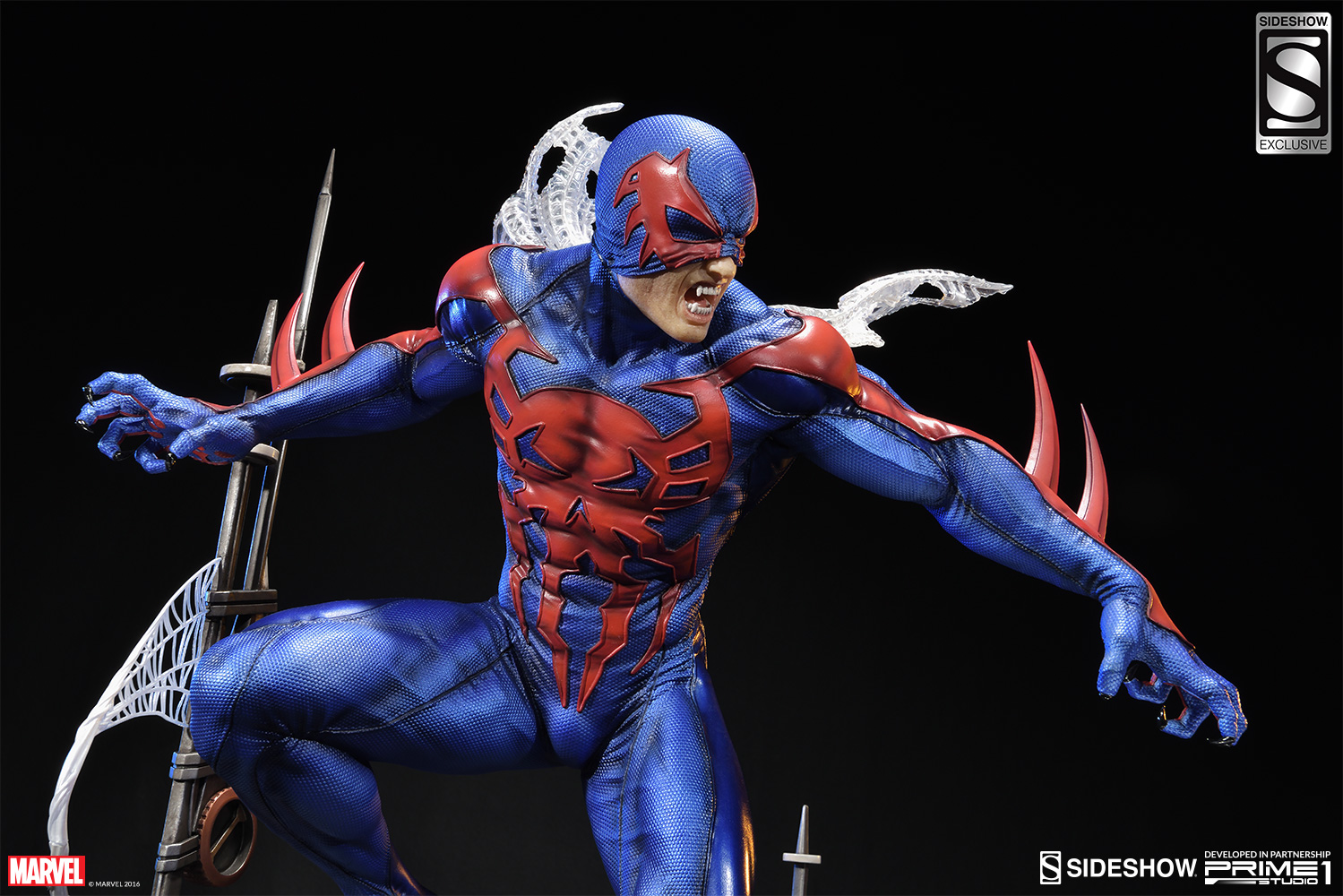 marvel spider man 2099 statue by sideshow collectibles sideshow
