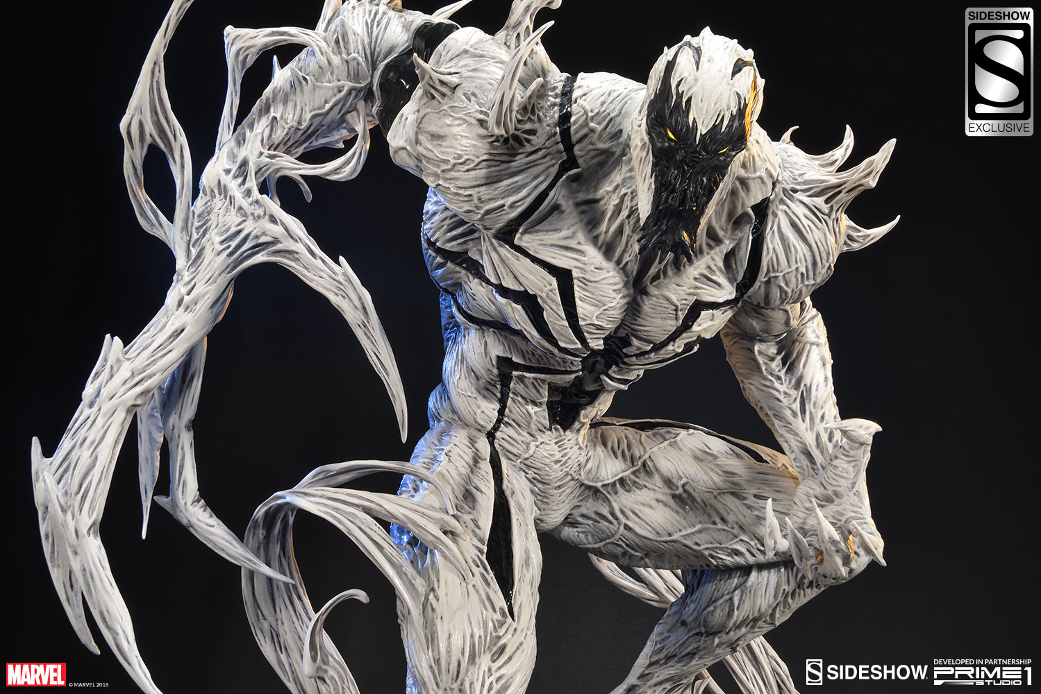 marvel anti venom statue by sideshow collectibles sideshow