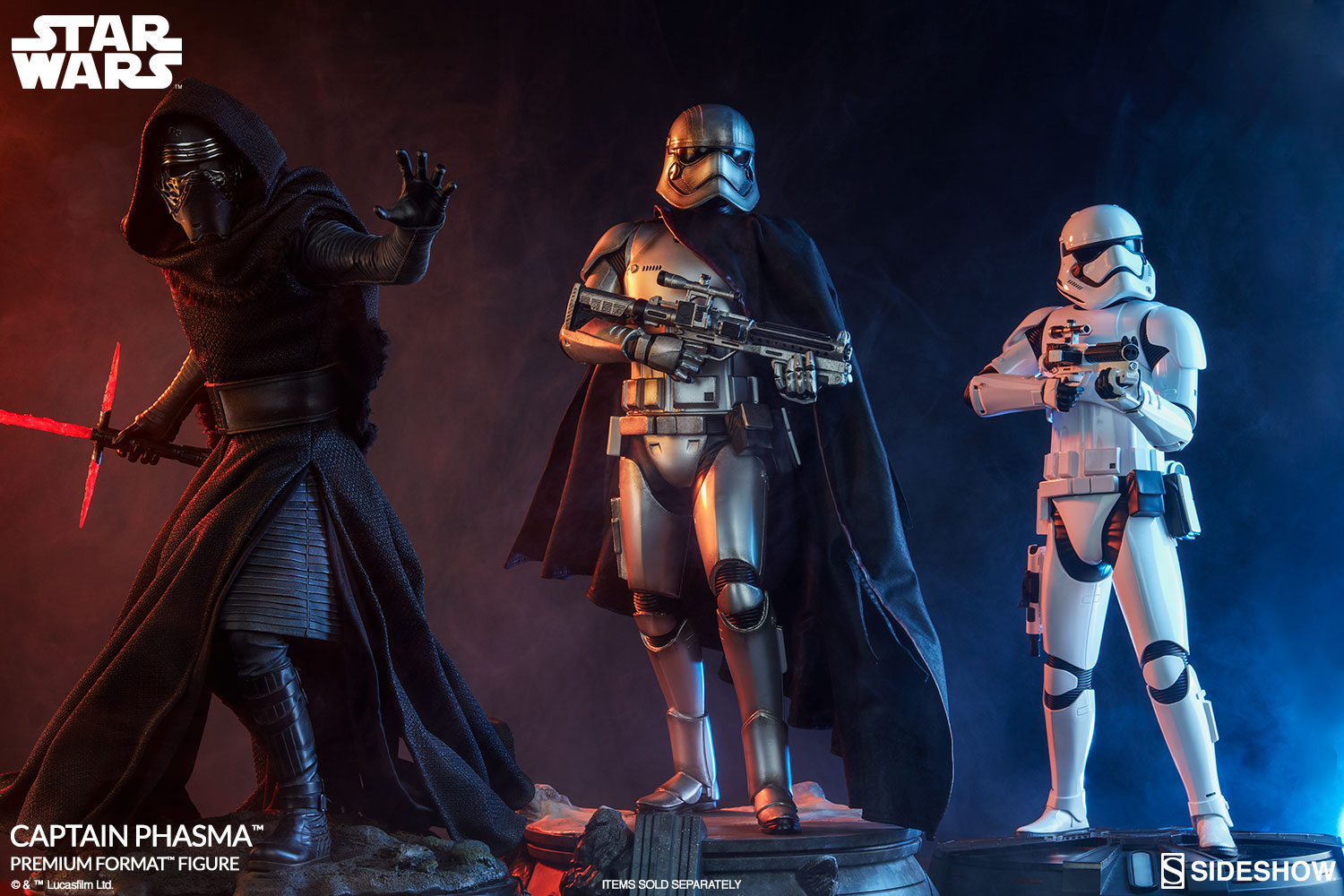 star wars captain phasma premium format tm figure by sidesh sideshow collectibles. Black Bedroom Furniture Sets. Home Design Ideas