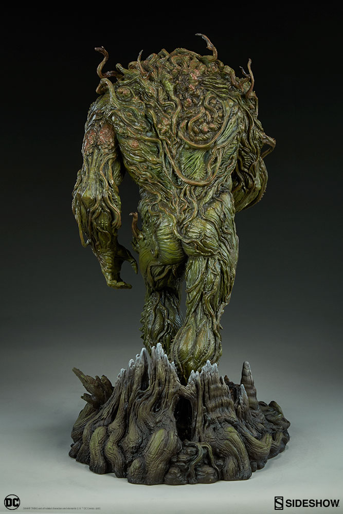 DC Comics Swamp Thing Maquette by Sideshow Collectibles ...