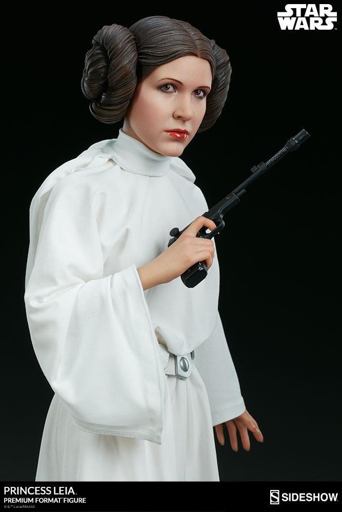 star wars princess leia premium format tm figure by sidesho