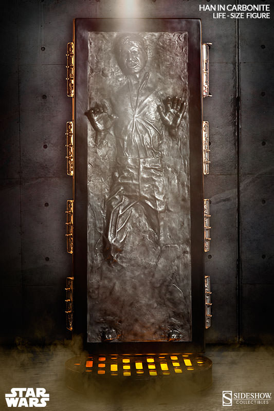 STAR WARS: HAN SOLO IN CARBONITE Life size figure 400072-han-solo-in-carbonite-001