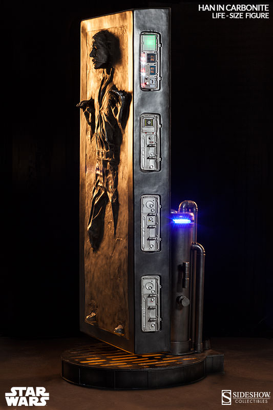 STAR WARS: HAN SOLO IN CARBONITE Life size figure 400072-han-solo-in-carbonite-002