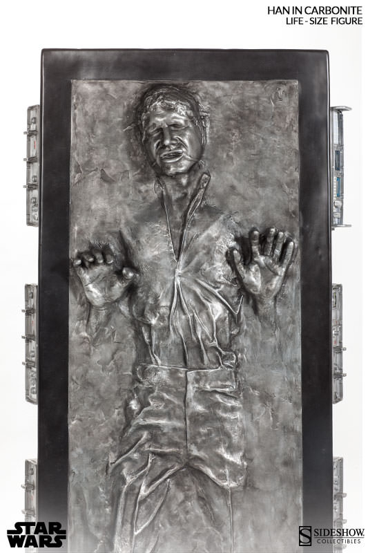 STAR WARS: HAN SOLO IN CARBONITE Life size figure 400072-han-solo-in-carbonite-005