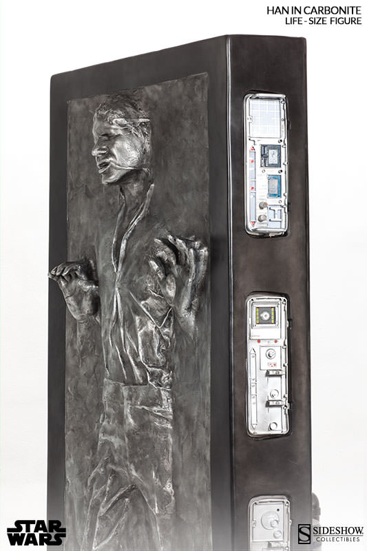 STAR WARS: HAN SOLO IN CARBONITE Life size figure 400072-han-solo-in-carbonite-006