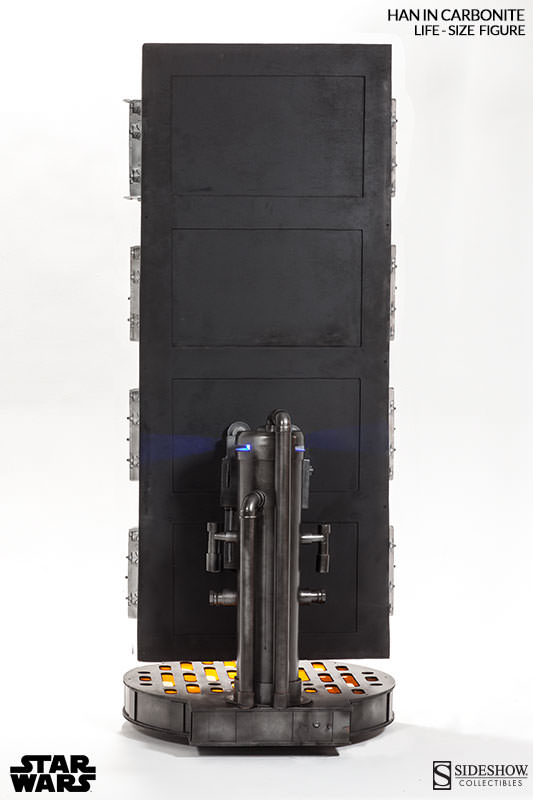 STAR WARS: HAN SOLO IN CARBONITE Life size figure 400072-han-solo-in-carbonite-008