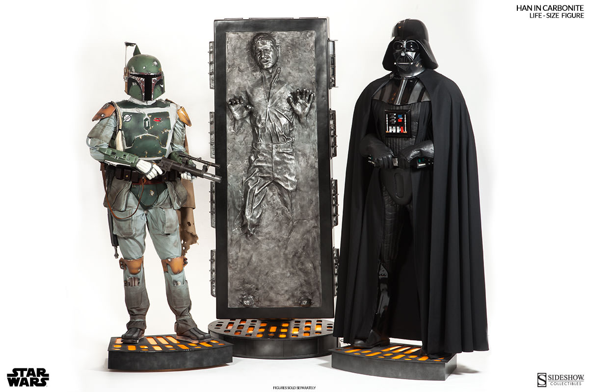 han solo in carbonite sideshow collectibles. Black Bedroom Furniture Sets. Home Design Ideas