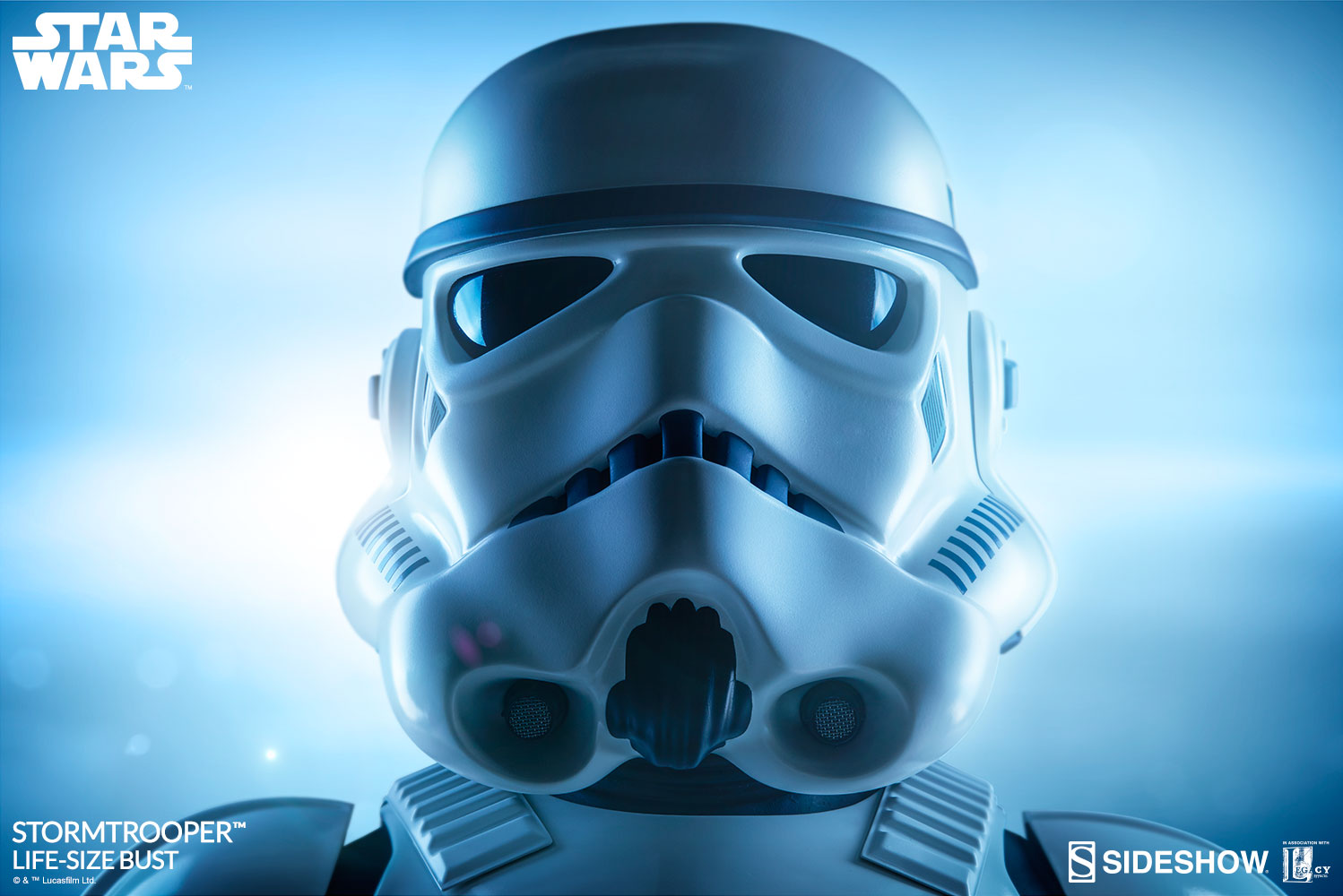 star wars stormtrooper life size bust by sideshow collectibl sideshow collectibles. Black Bedroom Furniture Sets. Home Design Ideas