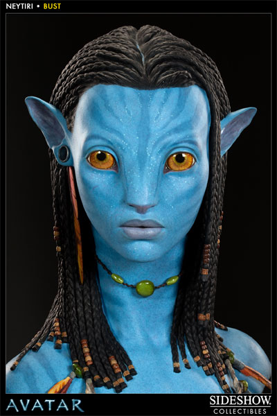 avatar neytiri bust by sideshow collectibles sideshow
