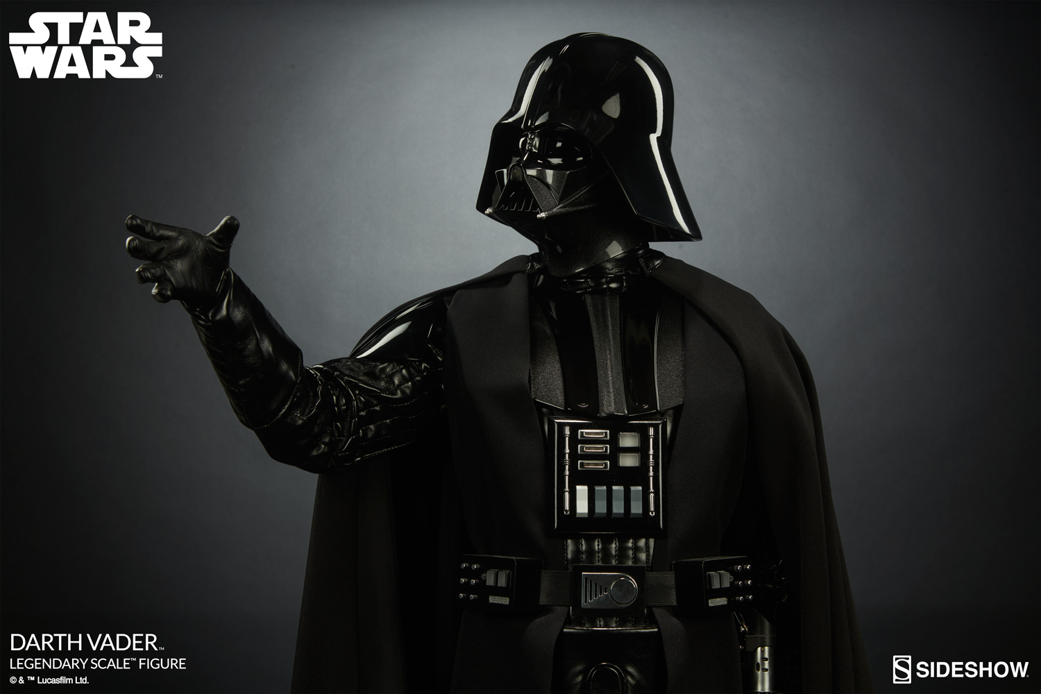 star wars darth vader legendary scale tm figure by sideshow sideshow collectibles. Black Bedroom Furniture Sets. Home Design Ideas