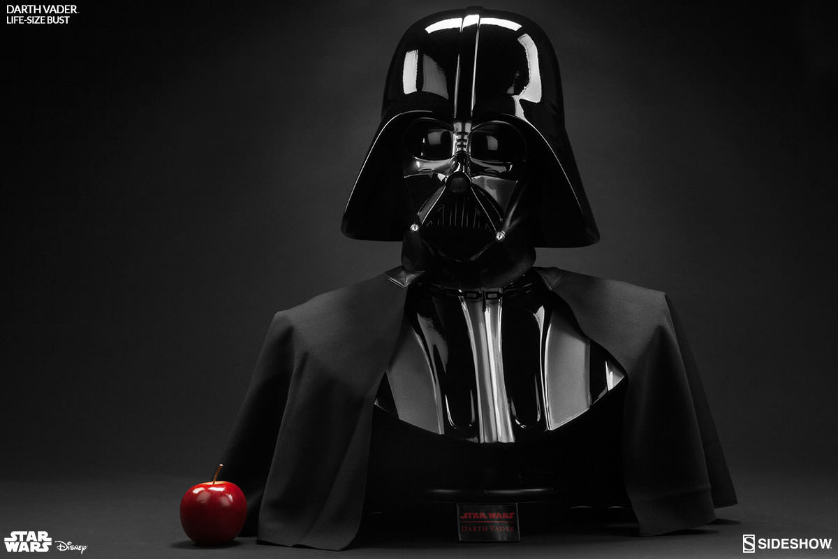 Star Wars Darth Vader Life Size Bust By Sideshow