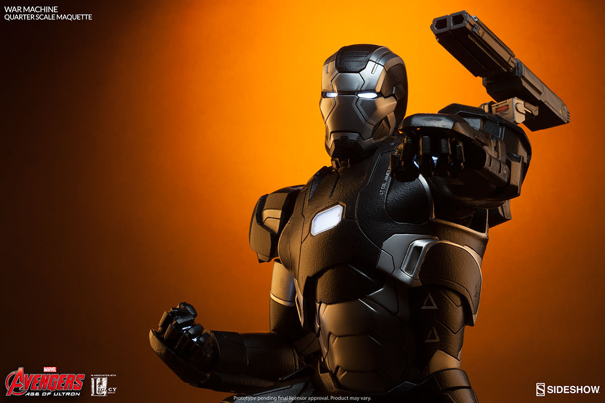 Marvel War Machine Maquette By Sideshow Collectibles