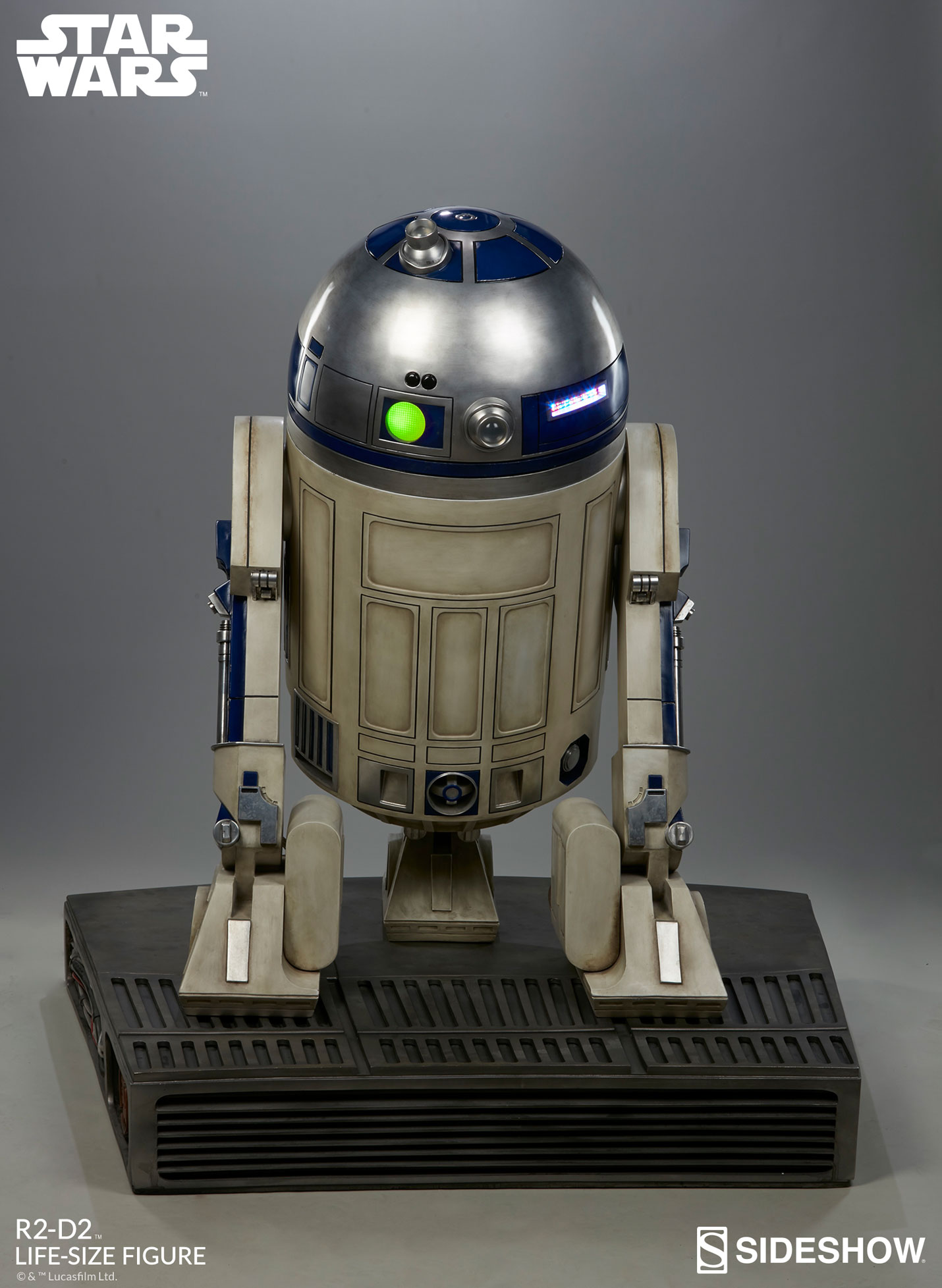 Star Wars R2-D2 Life-Size Figure by Sideshow Collectibles ...