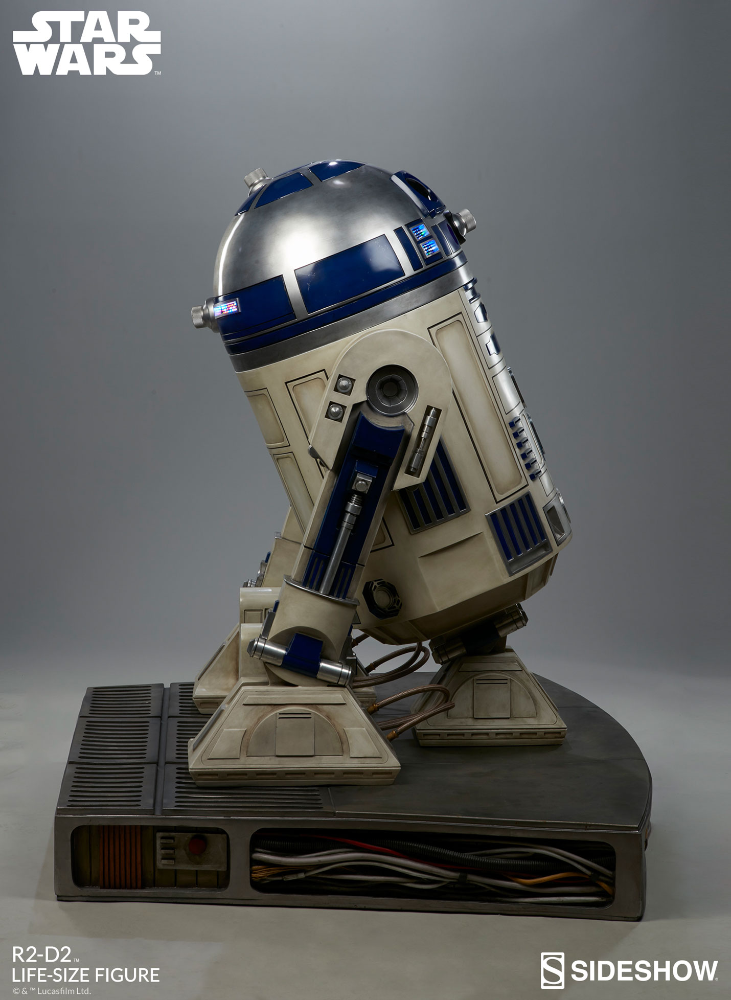 star wars r2 d2 life size figure by sideshow collectibles sideshow collectibles. Black Bedroom Furniture Sets. Home Design Ideas
